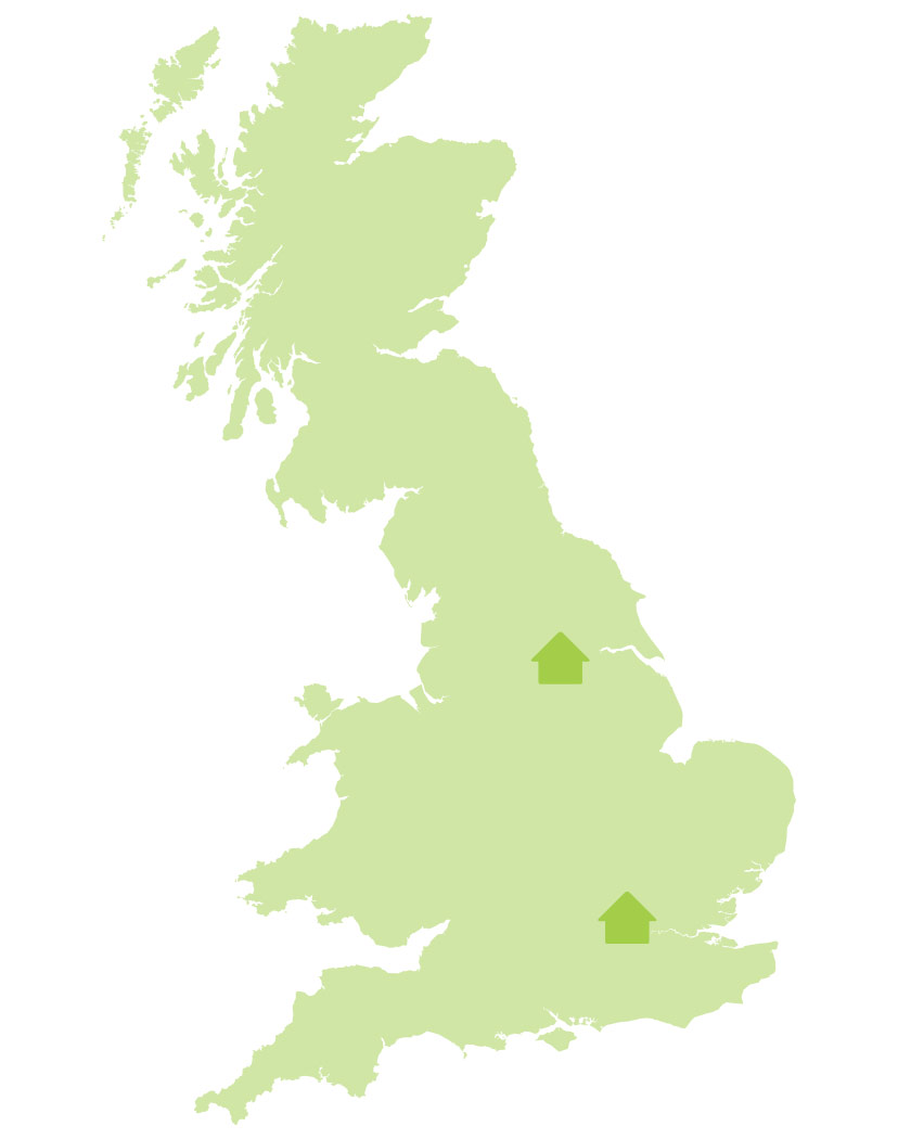 Bryan G Hall, UK Office Locations